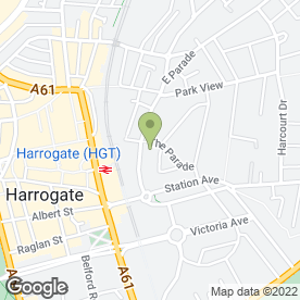 Map of Arthington Court in Harrogate, north yorkshire