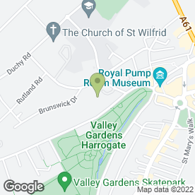 Map of Harrogate Family Law in Harrogate, north yorkshire