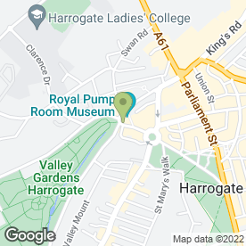 Map of McColl's in HARROGATE, north yorkshire