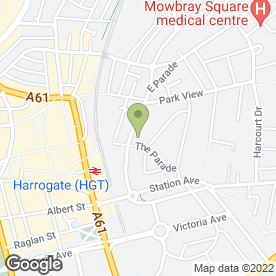 Map of Kaleidoscope Pre-School Group in Harrogate, north yorkshire