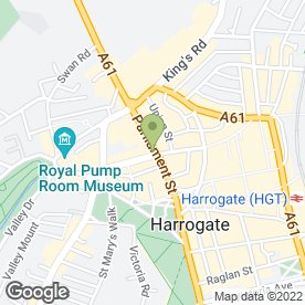 Map of Multiyork Harrogate Store in Harrogate, north yorkshire