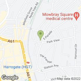 Map of Great Hardware Ltd in Harrogate, north yorkshire