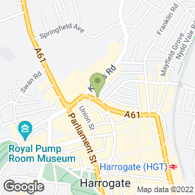 Map of Vivido in Harrogate, north yorkshire