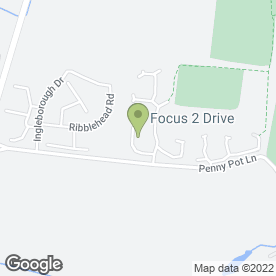Map of Kwik Pass Driving School in Harrogate, north yorkshire