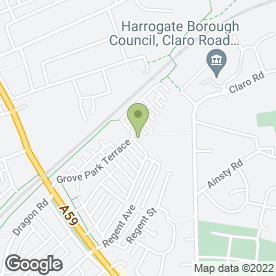 Map of Harrogate Self Storage Ltd in Harrogate, north yorkshire