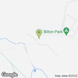 Map of Bilton Pet Hotel in Harrogate, north yorkshire
