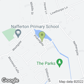 Map of A1 Marquee Hire in Nafferton, Driffield, north humberside