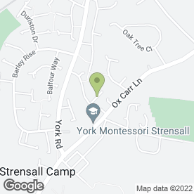 Map of Lynda's School of Motoring in Strensall, York, north yorkshire