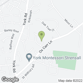 Map of Passmaster Driving School in Strensall, York, north yorkshire