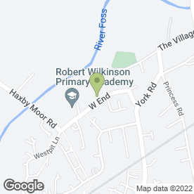 Map of Ride-4-Life Advanced Motorcycle Training in York, north yorkshire