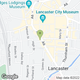 Map of Lancaster Skin & Laser Clinic in Lancaster, lancashire