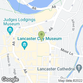 Map of Soupa Nova Ltd in Lancaster, lancashire