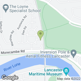 Map of Courier Expert Sameday 24/7 in Lancaster, lancashire