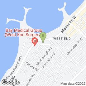 Map of The Westleigh in Morecambe, lancashire