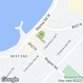 Map of U Tell We Excell in MORECAMBE, lancashire
