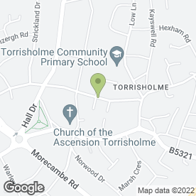 Map of Maths & 11+ Tuition in Morecambe, lancashire
