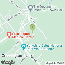 Map of Dan Field Electrician in Grassington, Skipton, north yorkshire