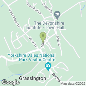Map of Post Office Ltd in Grassington, Skipton, north yorkshire