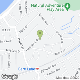 Map of John Christian Electrical Contractors in Morecambe, lancashire