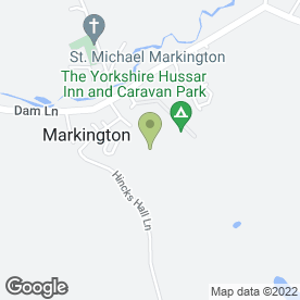 Map of H Bainbridge & Son in Markington, Harrogate, north yorkshire