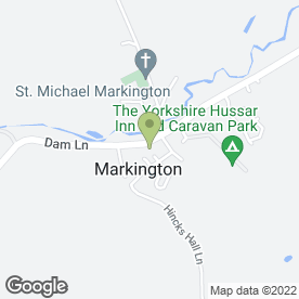 Map of A.K.C Landscapes in Harrogate, north yorkshire