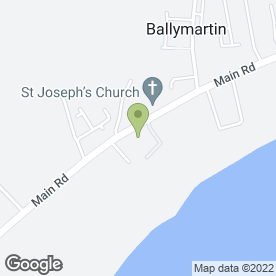 Map of F.J Charleton Building Contractors Ltd in Ballymartin, Newry, county down