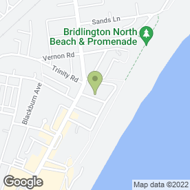 Map of East Coast Builders Ltd in Bridlington, north humberside