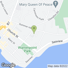 Map of A.M Rentals in Warrenpoint, Newry, county down