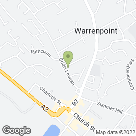 Map of P Curran in Warrenpoint, Newry, county down