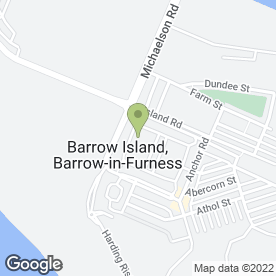 Map of Tuesday Handicapped Club in Barrow-In-Furness, cumbria