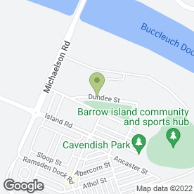 Map of Keith Wilson in Barrow-In-Furness, cumbria