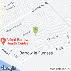 Map of QUALITY FLOORING in Barrow-In-Furness, cumbria