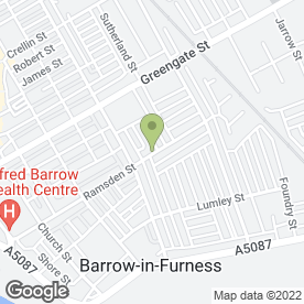 Map of T & J PHOTOGRAPHIC in Barrow-In-Furness, cumbria