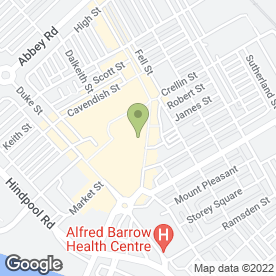 Map of Savers Health & Beauty Ltd in Barrow-In-Furness, cumbria