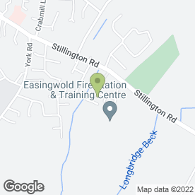 Map of Easingwold Bathrooms & Interiors in Easingwold, York, north yorkshire