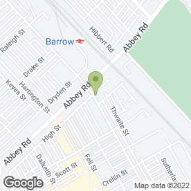 Map of Empire Flooring Services Ltd in Barrow-In-Furness, cumbria