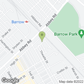 Map of Superior Windows Ltd in Barrow-In-Furness, cumbria