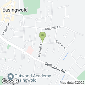 Map of G. T Plastering in Easingwold, York, north yorkshire