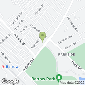 Map of Barrow Food Bank in Barrow-In-Furness, cumbria