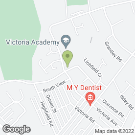Map of Victoria Junior School in Barrow-In-Furness, cumbria