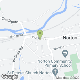 Map of STATION TAXIS in Norton, Malton, north yorkshire