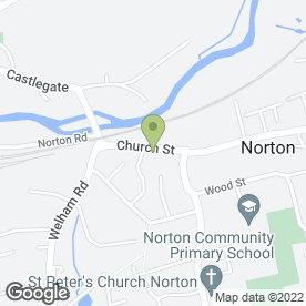 Map of Derwent Arms in Norton, Malton, north yorkshire
