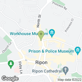 Map of Sugarfun in Ripon, north yorkshire