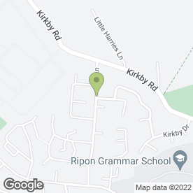 Map of P.A Davies in Ripon, north yorkshire