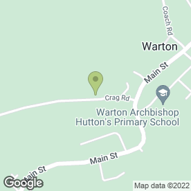 Map of Beaver Tree Surgeons in Warton, Carnforth, lancashire