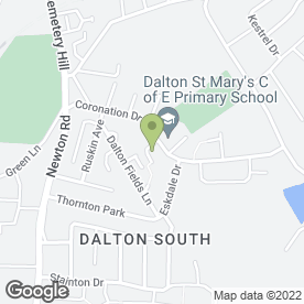Map of Phoenix Locksmiths in Dalton-In-Furness, cumbria
