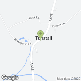 Map of The Lunesdale Arms in Tunstall, Carnforth, lancashire