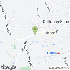 Map of Dalton P.O in Dalton-In-Furness, cumbria