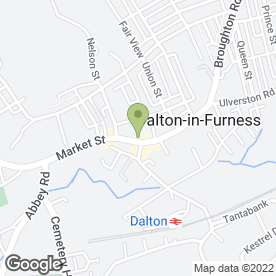 Map of Cutting Edge in Dalton-In-Furness, cumbria