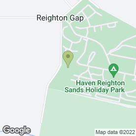 Map of S DAVEY in Reighton Gap, Filey, north yorkshire